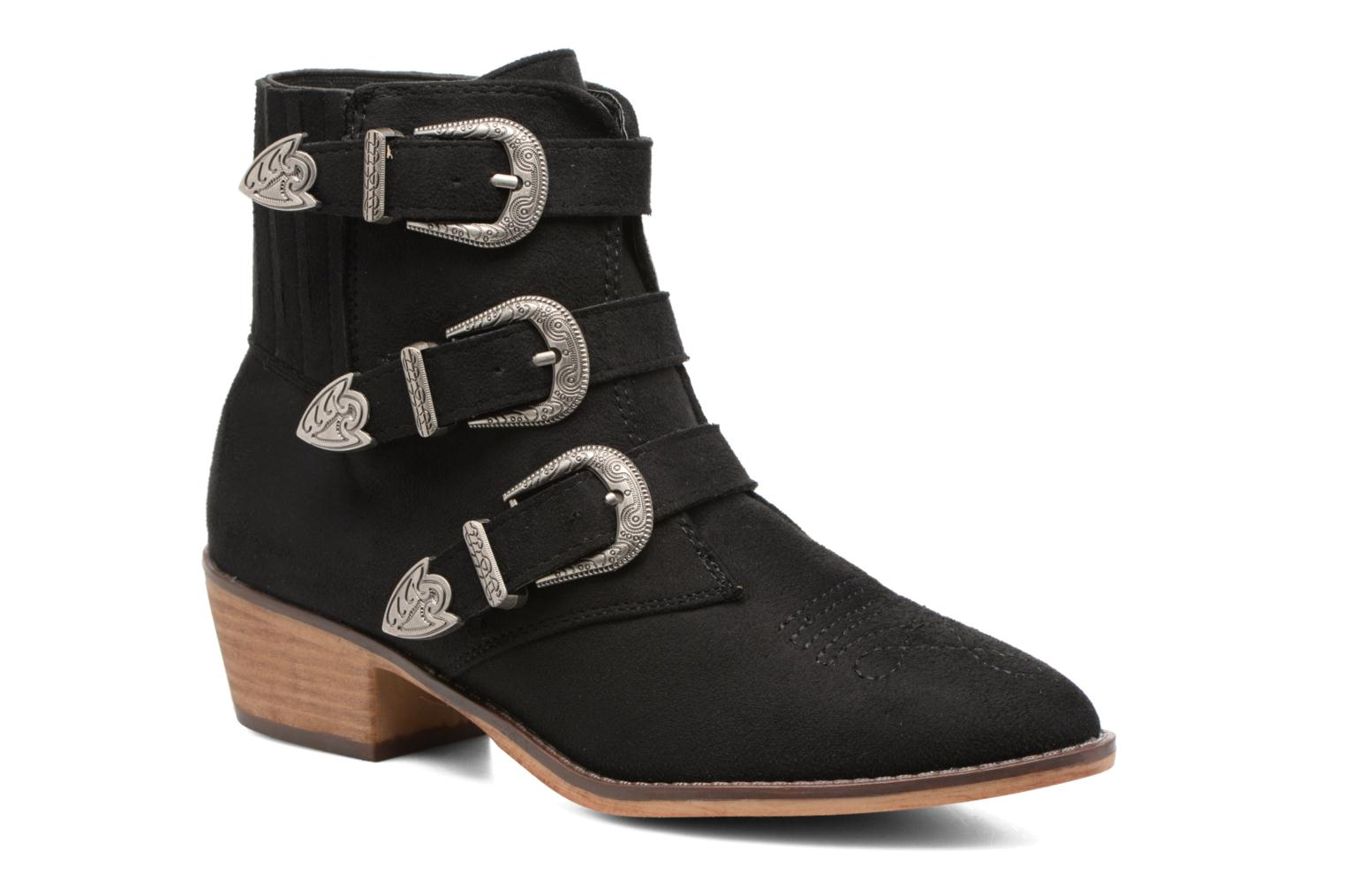 Ankle boots I Love Shoes THERAPI Black detailed view/ Pair view