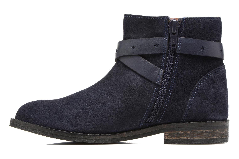 Stivaletti e tronchetti I Love Shoes SELIA LEATHER Azzurro immagine frontale