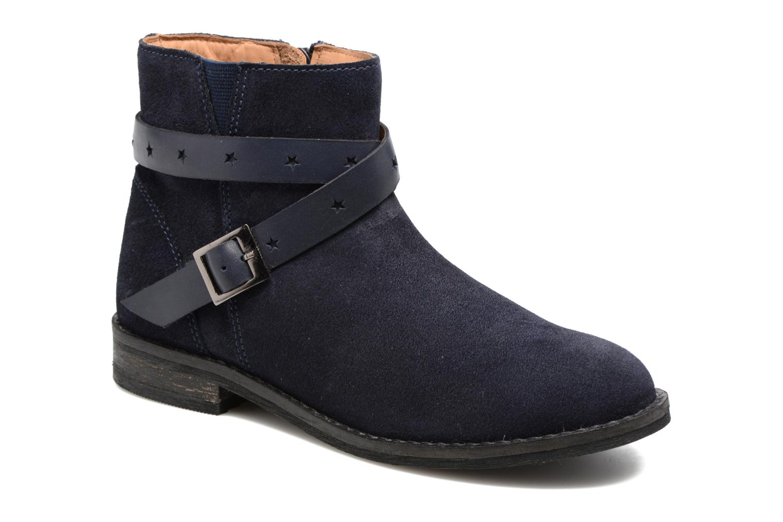 Boots en enkellaarsjes I Love Shoes SELIA LEATHER Blauw detail