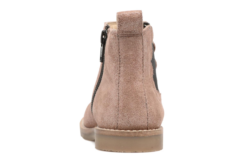 Boots en enkellaarsjes I Love Shoes SELIME LEATHER Roze rechts