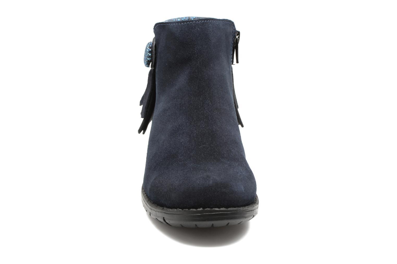 Bottines et boots I Love Shoes SYNDA LEATHER Bleu vue portées chaussures