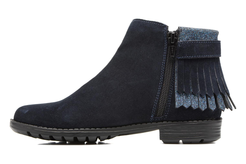 Bottines et boots I Love Shoes SYNDA LEATHER Bleu vue face