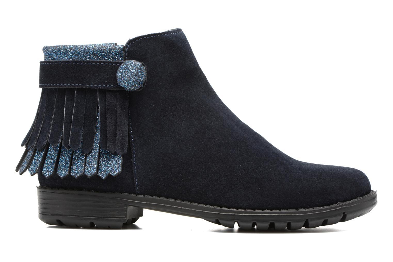 Bottines et boots I Love Shoes SYNDA LEATHER Bleu vue derrière