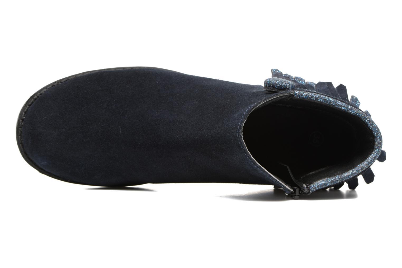 Bottines et boots I Love Shoes SYNDA LEATHER Bleu vue gauche
