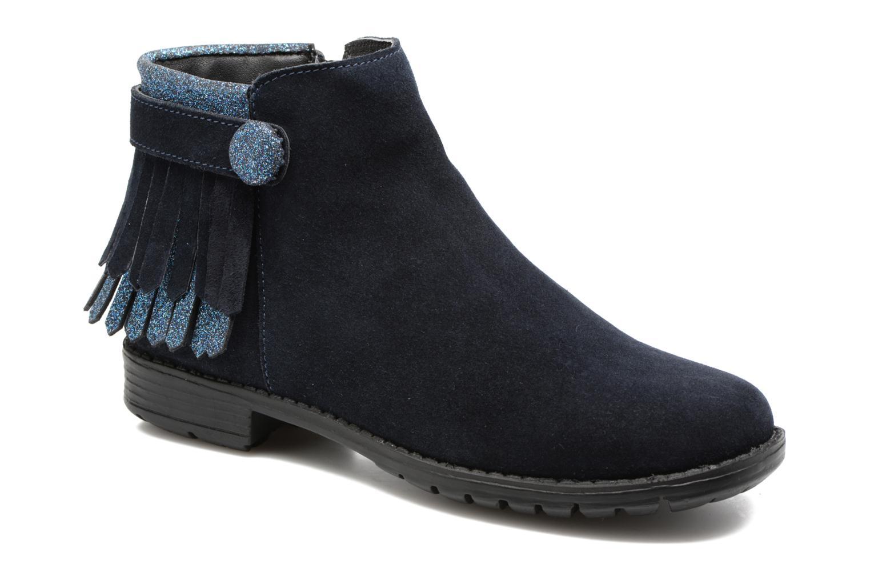 Bottines et boots I Love Shoes SYNDA LEATHER Bleu vue détail/paire