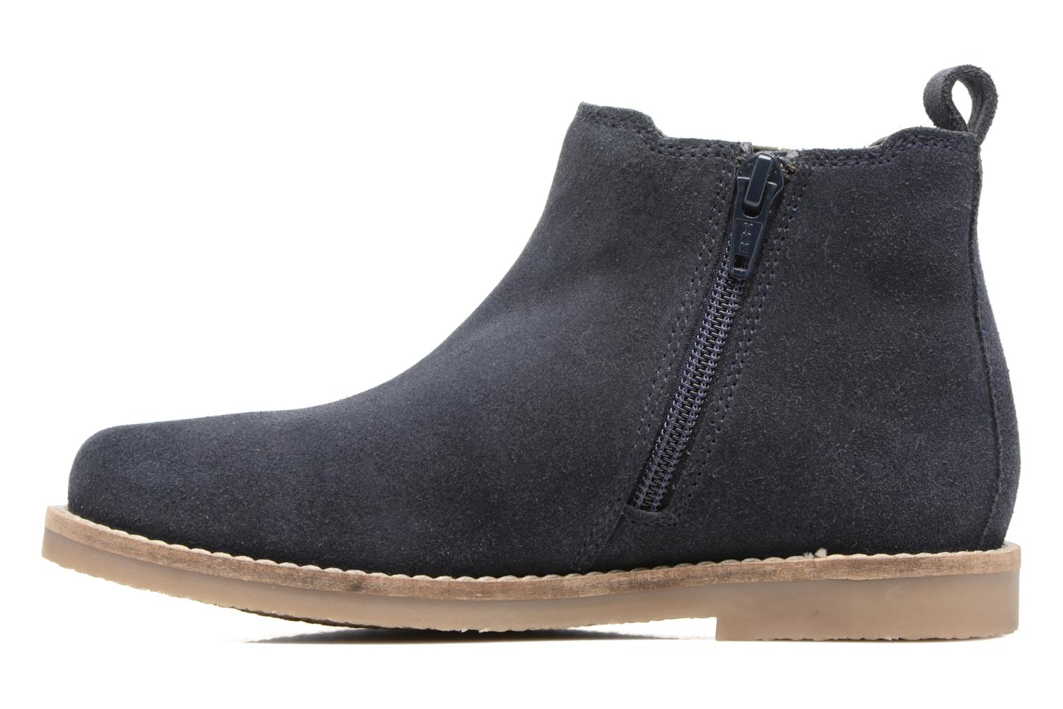 Ankle boots I Love Shoes STEFFI LEATHER Blue front view
