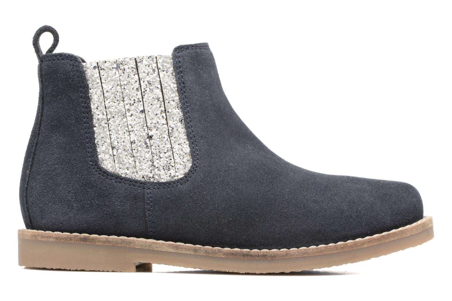 Ankle boots I Love Shoes STEFFI LEATHER Blue back view