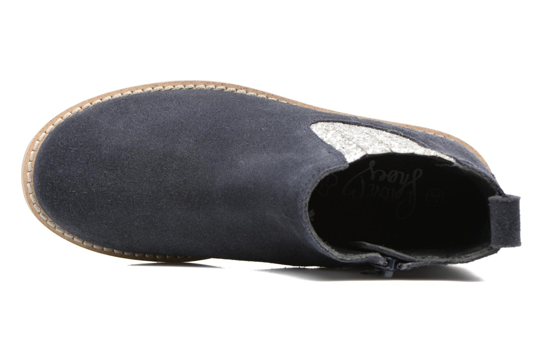 Stivaletti e tronchetti I Love Shoes STEFFI LEATHER Azzurro immagine sinistra