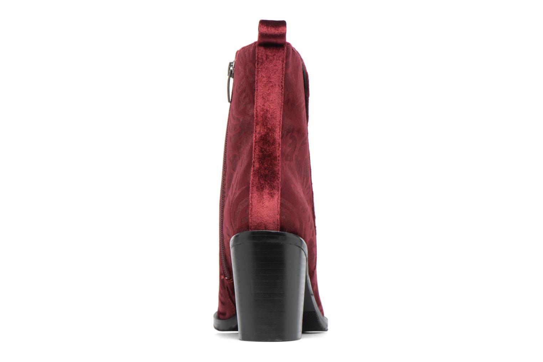 Bottines et boots Bruno Premi Belinda Bordeaux vue droite