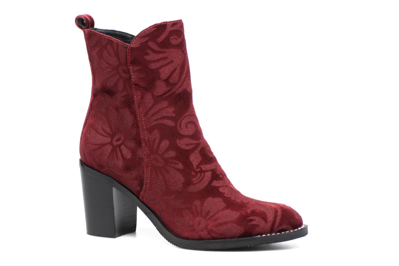 Bottines et boots Bruno Premi Belinda Bordeaux vue détail/paire