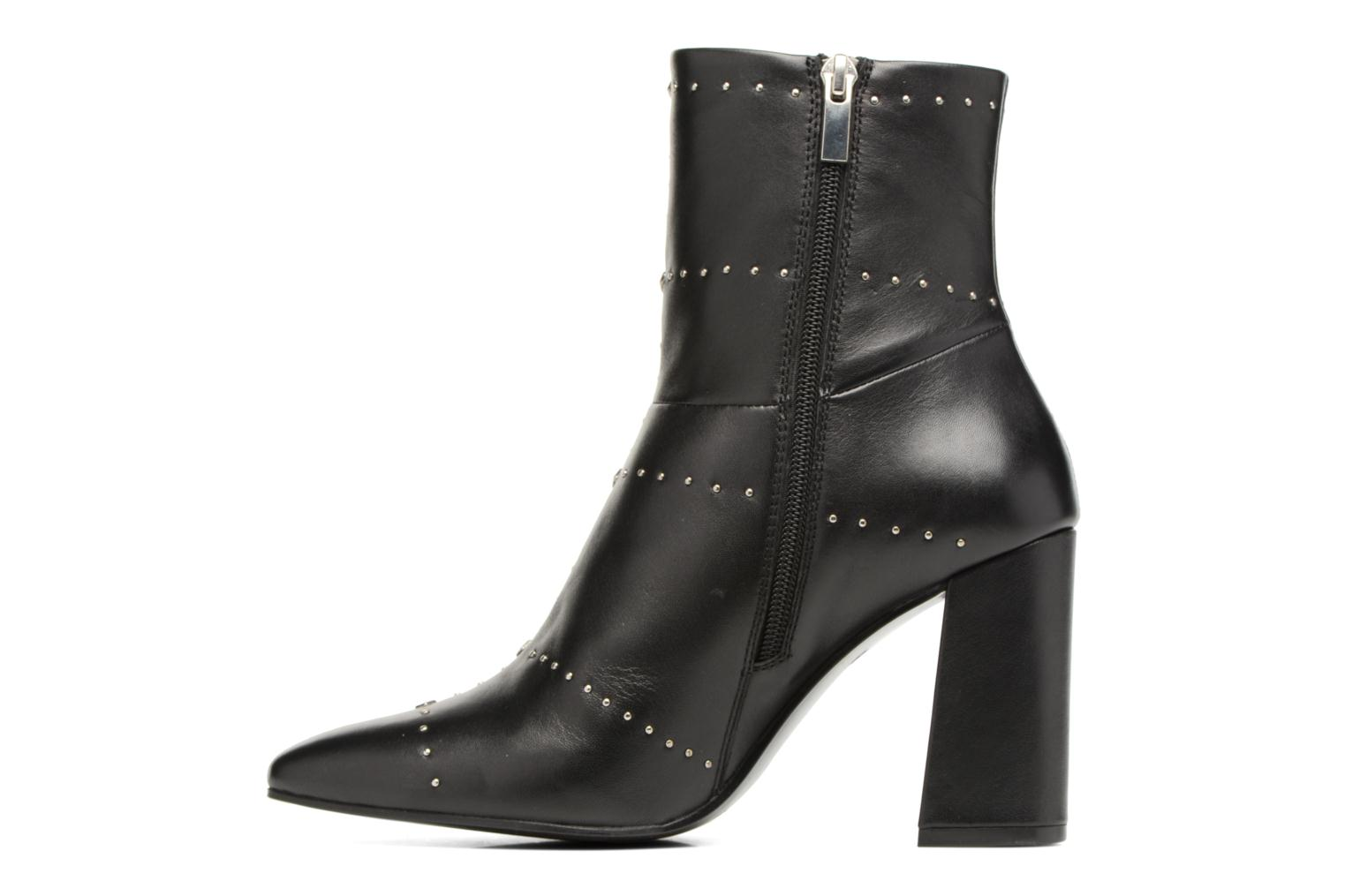 Bottines et boots Bruno Premi Braise Noir vue face