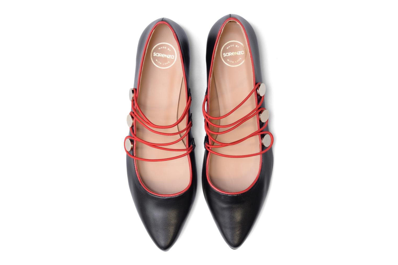 Ballerines Made by SARENZA Legit Legion #2 Noir vue portées chaussures