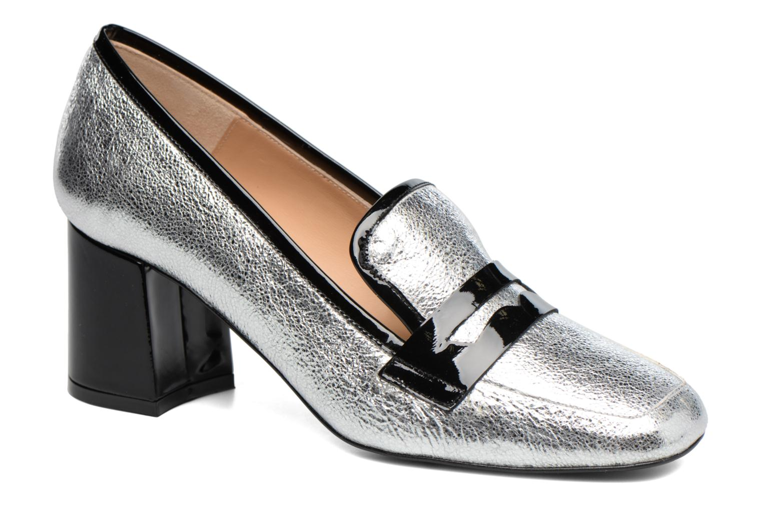 Loafers Made by SARENZA Crazy Seventy #1 Silver view from the right