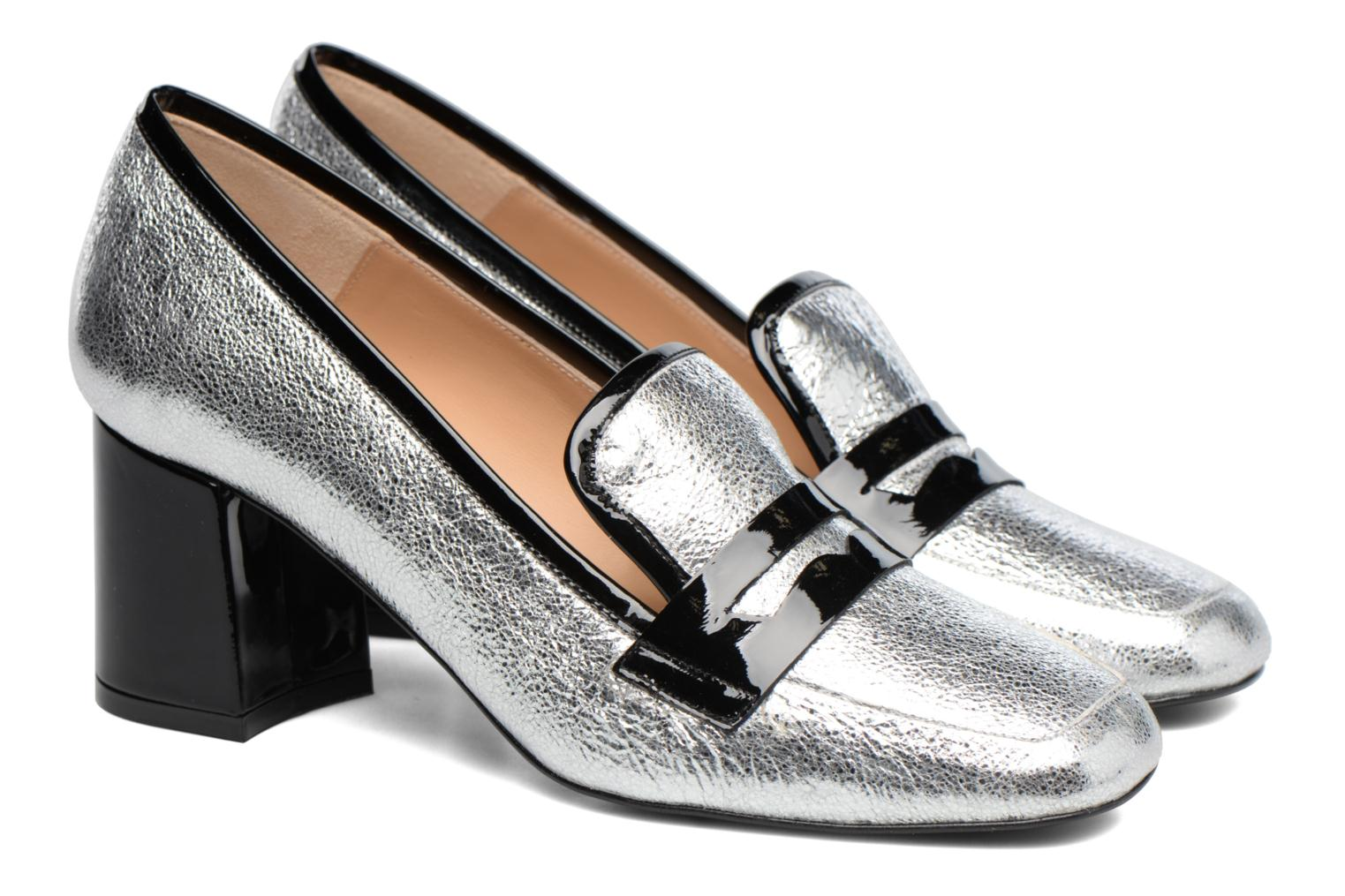 Loafers Made by SARENZA Crazy Seventy #1 Silver back view