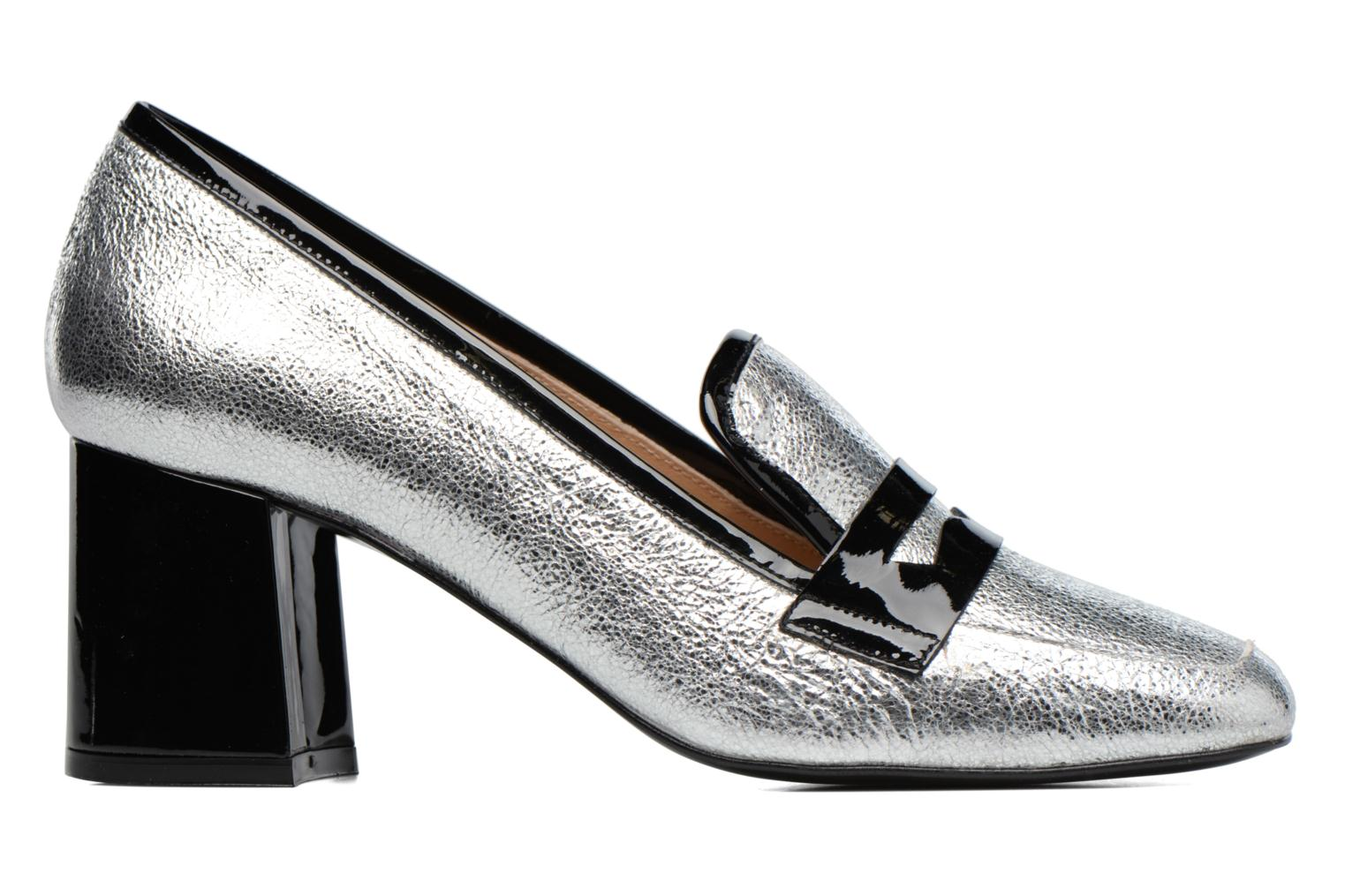 Loafers Made by SARENZA Crazy Seventy #1 Silver detailed view/ Pair view