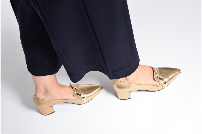 Escarpins Made by SARENZA Shoe Officer #1 Noir vue bas / vue portée sac