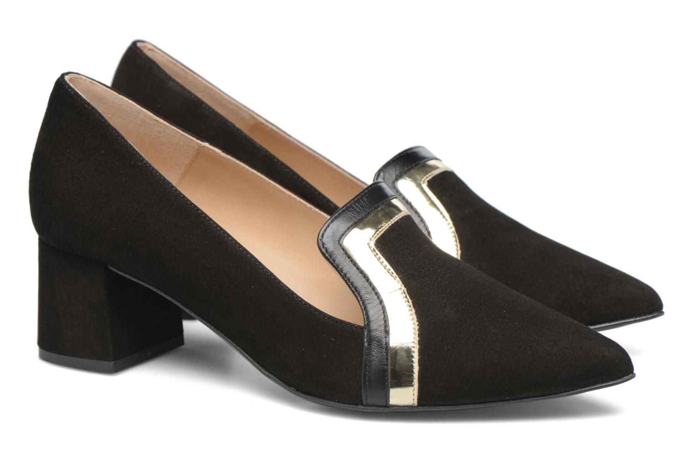 Shoe Officer #1 Cuir velours noir