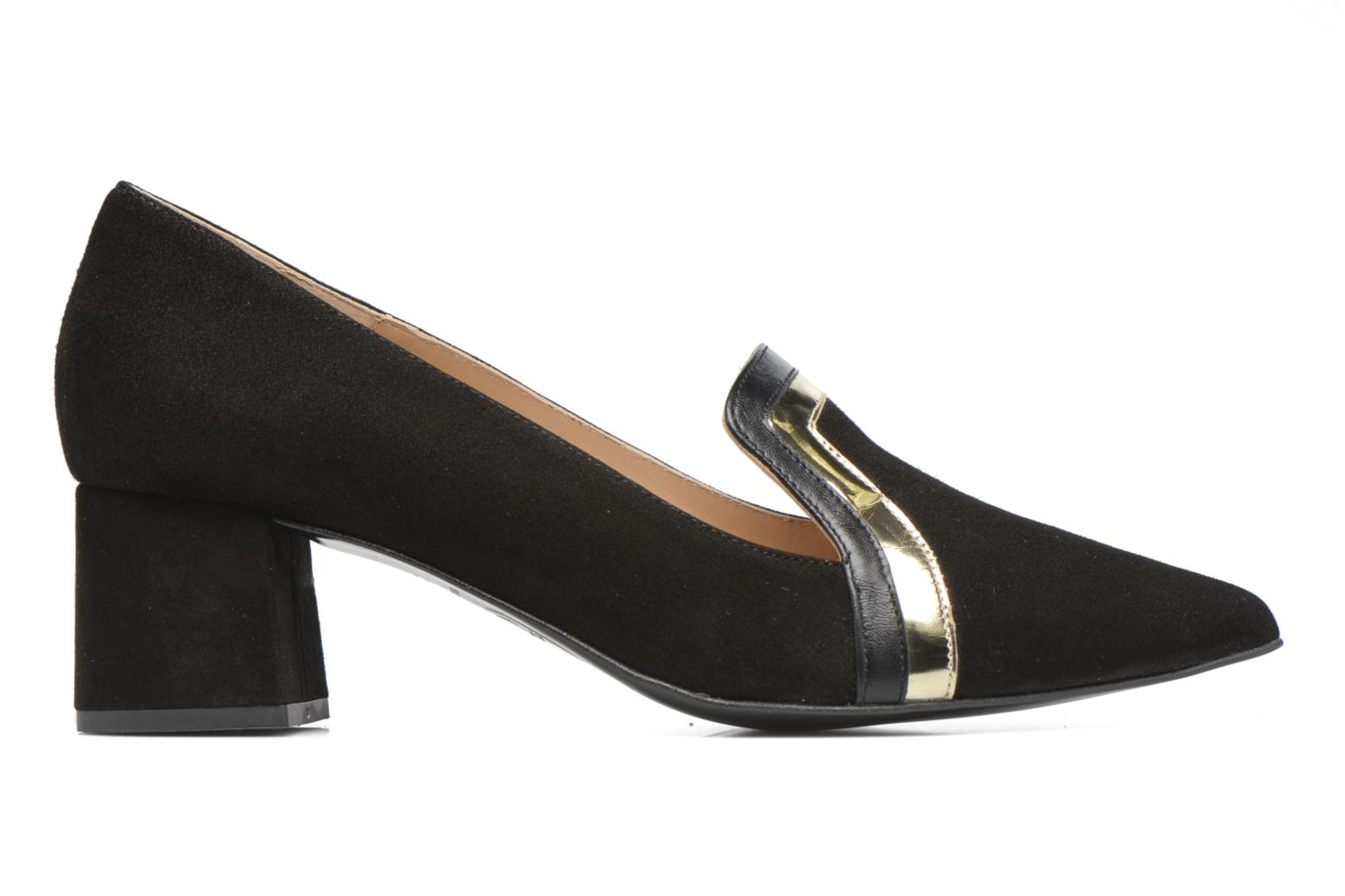 Shoe Officer #1 Cuir velours noir