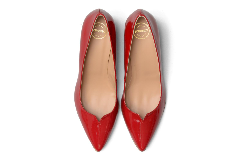 Zapatos de tacón Made by SARENZA 90's Girls Gang Escarpins #11 Rojo vista del modelo