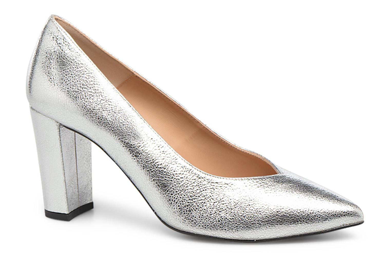 Zapatos de tacón Made by SARENZA Crazy Seventy #5 Plateado vista lateral derecha