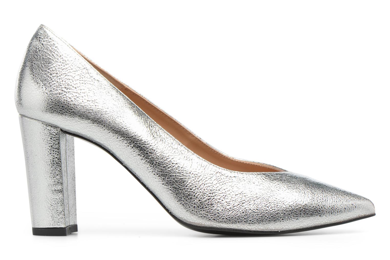 Zapatos de tacón Made by SARENZA Crazy Seventy #5 Plateado vista de detalle / par