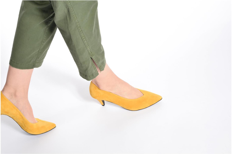 Zapatos de tacón Made by SARENZA 90's Girls Gang Escarpins #3 Amarillo vista de abajo