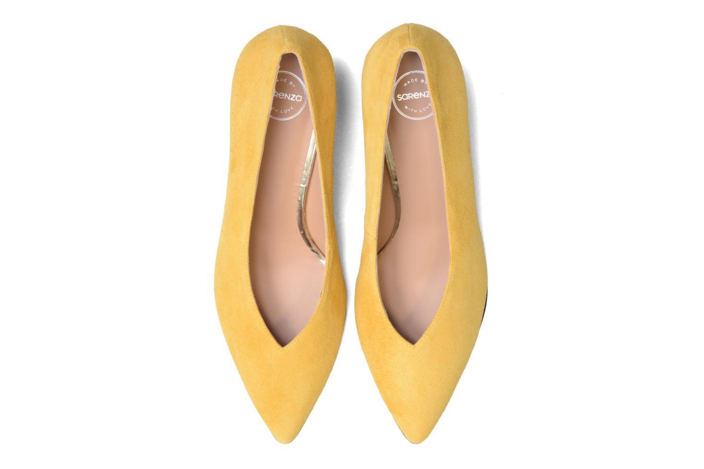 Høje hæle Made by SARENZA 90's Girls Gang Escarpins #3 Gul se skoene på