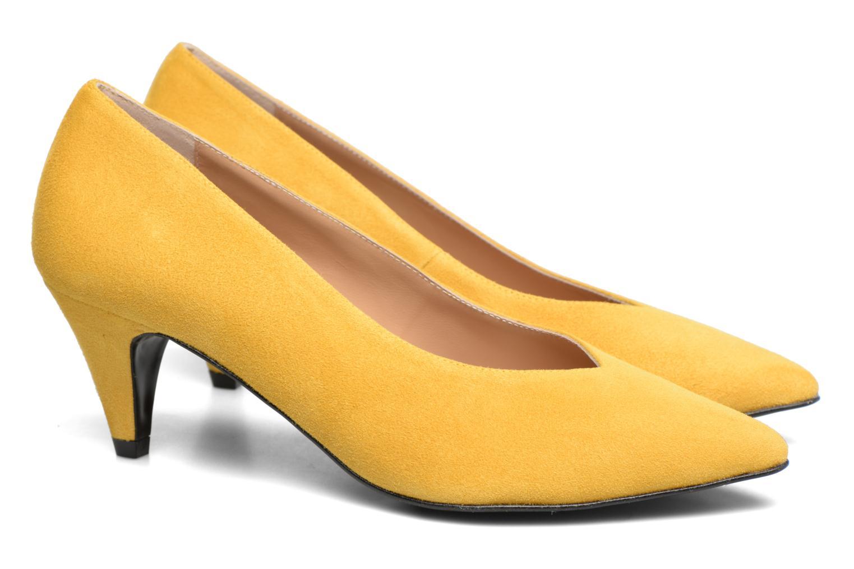 Zapatos de tacón Made by SARENZA 90's Girls Gang Escarpins #3 Amarillo vistra trasera