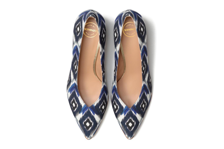Zapatos de tacón Made by SARENZA 90's Girls Gang Escarpins #3 Azul vista del modelo