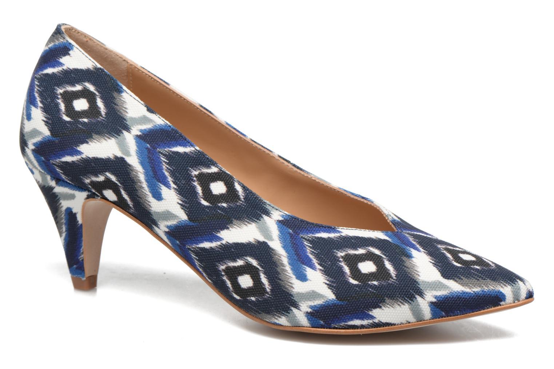 Zapatos de tacón Made by SARENZA 90's Girls Gang Escarpins #3 Azul vista lateral derecha