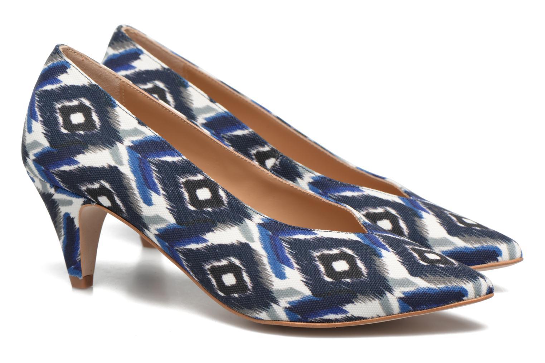 Høje hæle Made by SARENZA Busy Girl Escarpins #3 Blå se bagfra