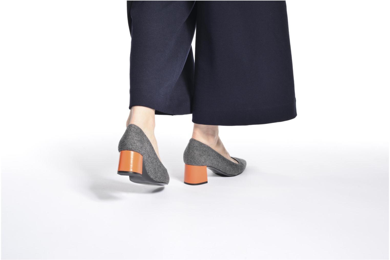 Zapatos de tacón Made by SARENZA Snow Disco #8 Negro vista de abajo