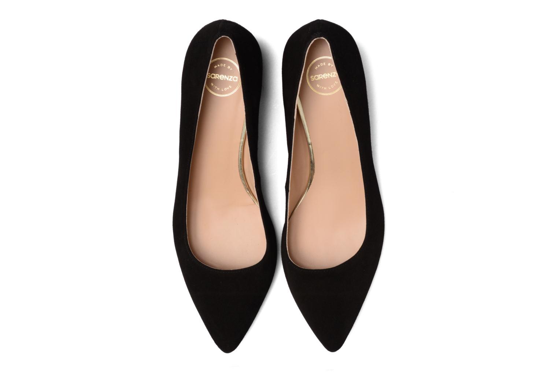 High heels Made by SARENZA Snow Disco #8 Black model view