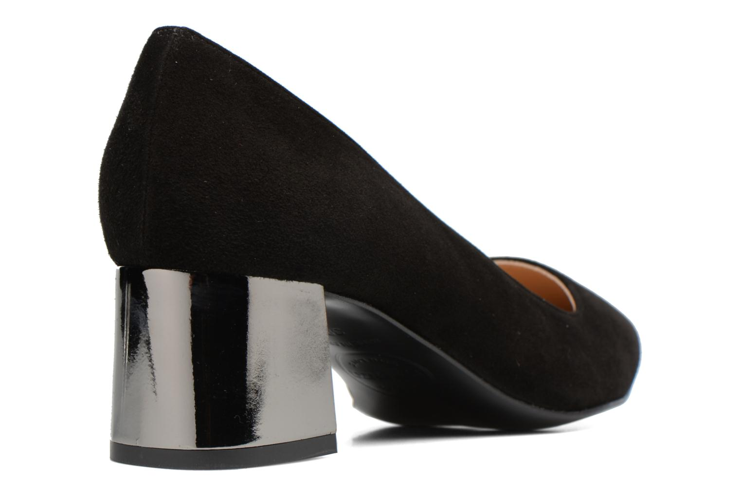 High heels Made by SARENZA Snow Disco #8 Black front view