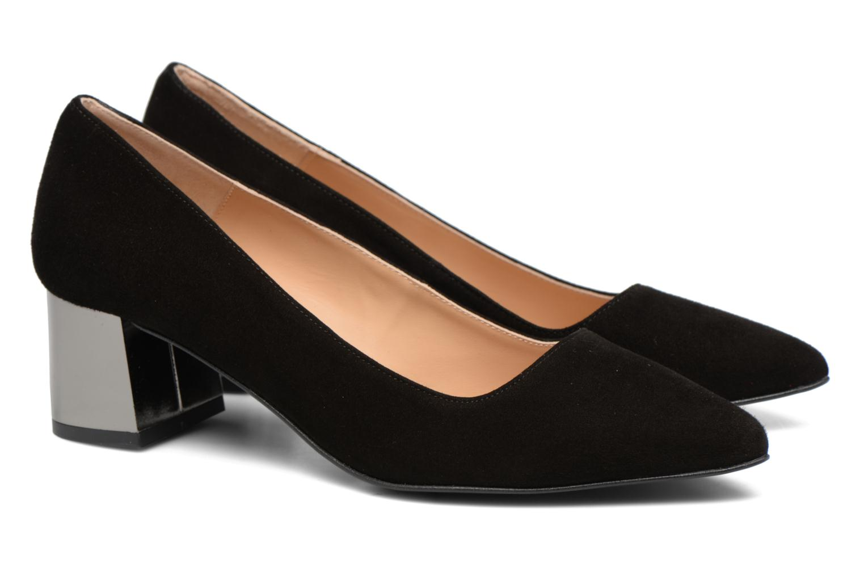 High heels Made by SARENZA Snow Disco #8 Black back view