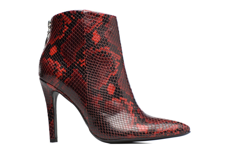 Bottines et boots Free Lance Itlys 9 zip back boot Rouge vue derrière