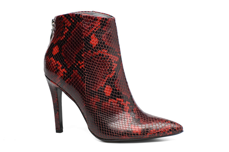 Bottines et boots Free Lance Itlys 9 zip back boot Rouge vue détail/paire