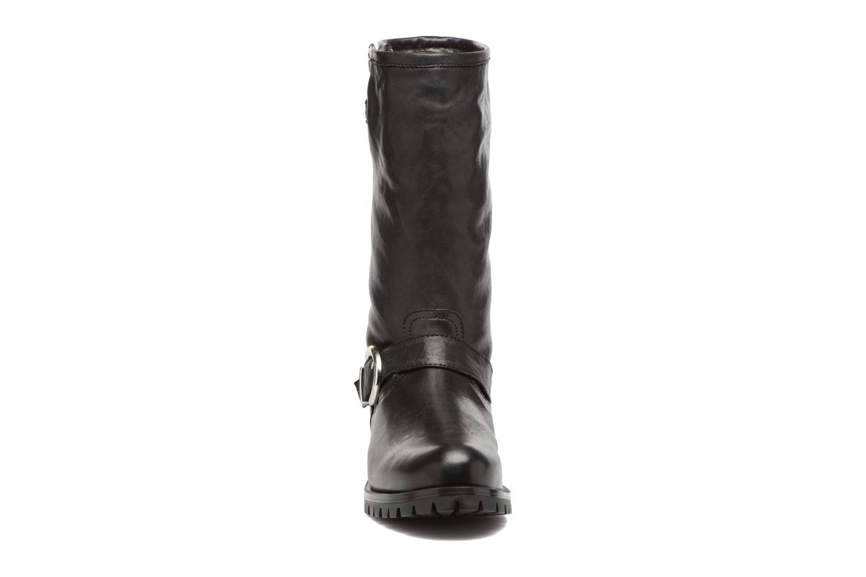 Bottes Unisa Insola Noir vue portées chaussures