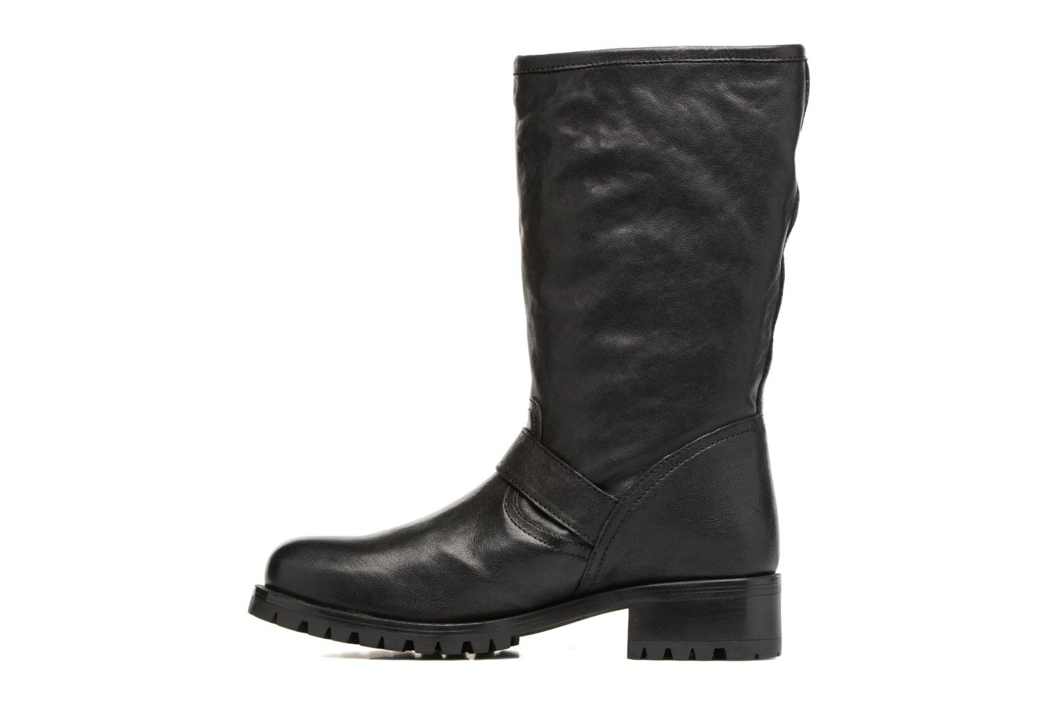 Boots & wellies Unisa Insola Black front view