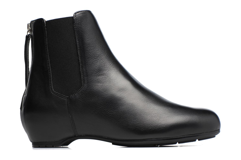 Bottines et boots Unisa Angus Noir vue derrière