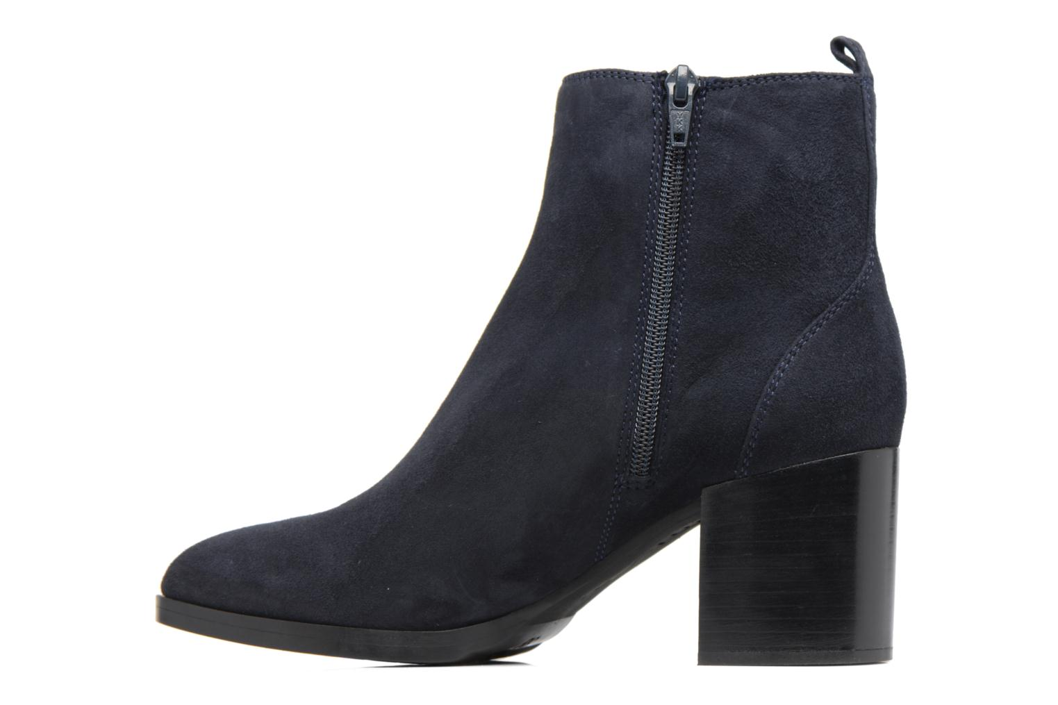 Ankle boots Unisa Matena Blue front view