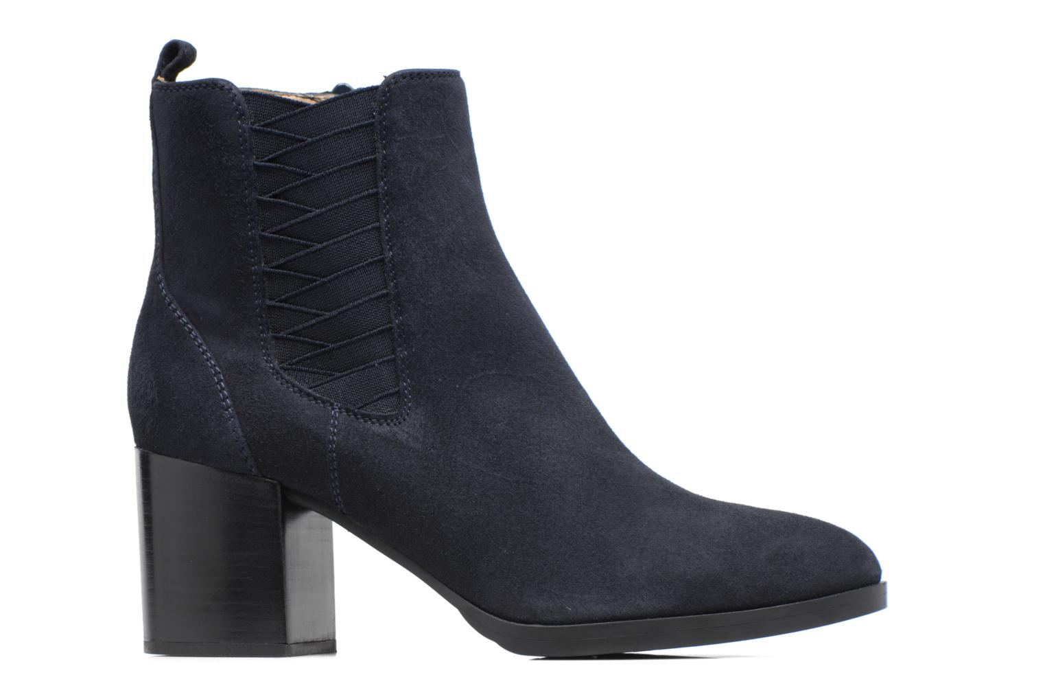 Ankle boots Unisa Matena Blue back view