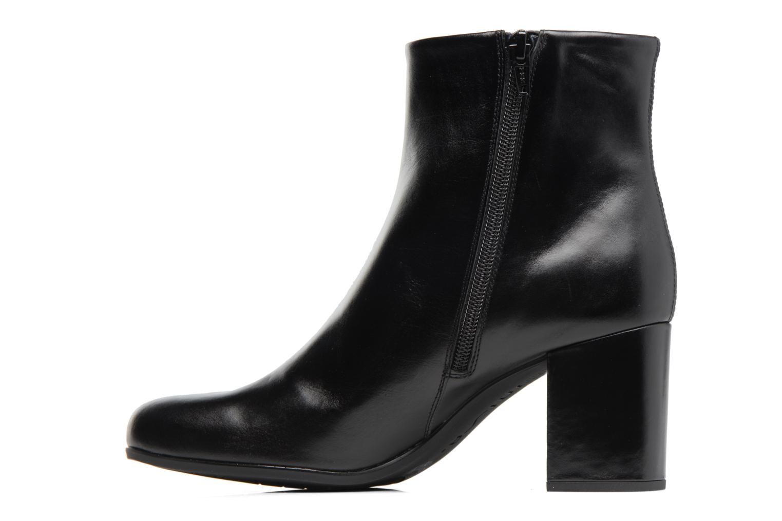Ankle boots Unisa Omer Black front view