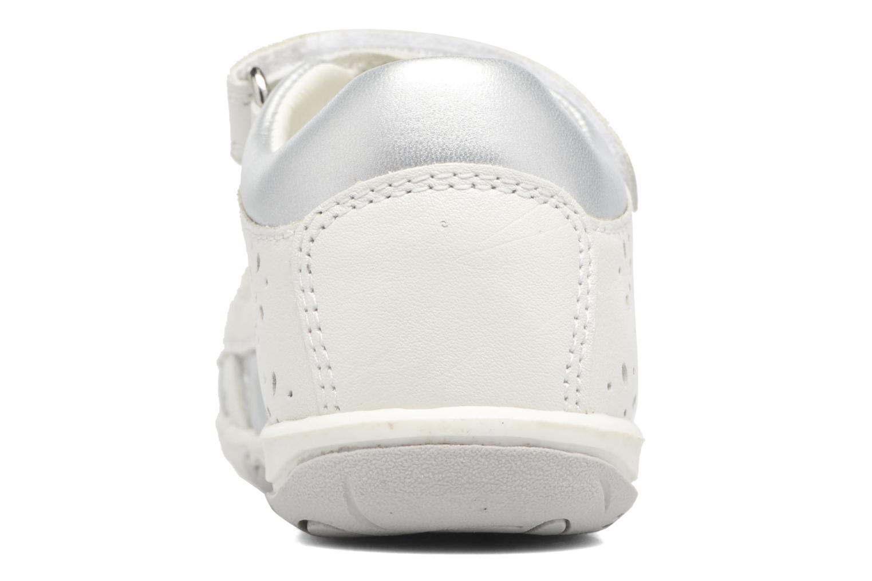 Sandales et nu-pieds Geox B SANDAL NICELY C Blanc vue droite