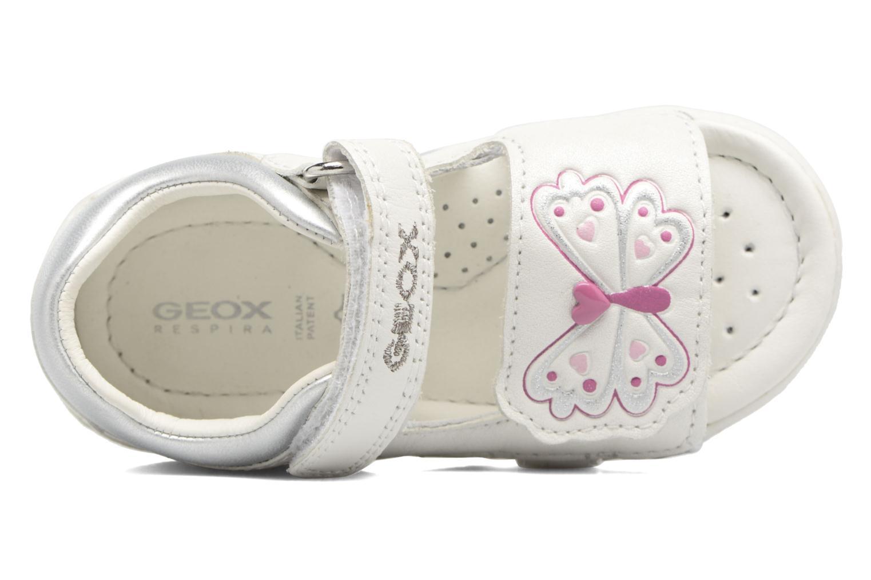 Sandales et nu-pieds Geox B SANDAL NICELY C Blanc vue gauche