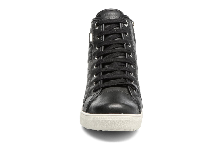 Baskets Geox D AMARANTH HIGH B AB II Noir vue portées chaussures
