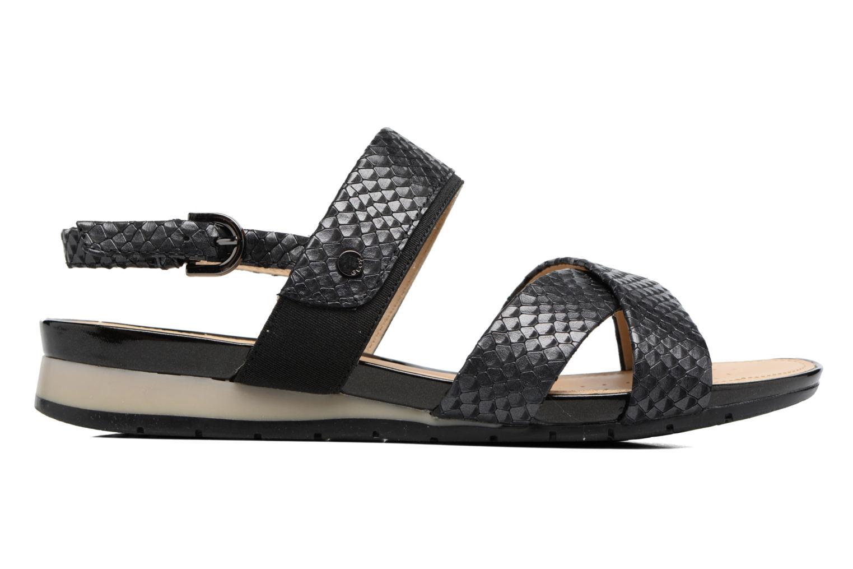 Sandalen Geox D FORMOSA B II Zwart achterkant