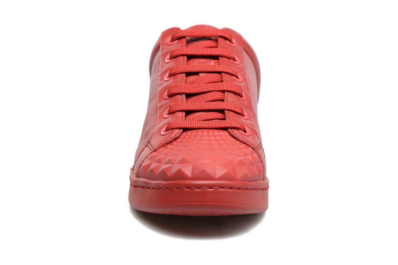Baskets Geox D JAYSEN D Rouge vue portées chaussures