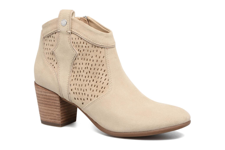 Geox D LUCINDA C (Beige) - Bottines et boots chez Sarenza (299241)