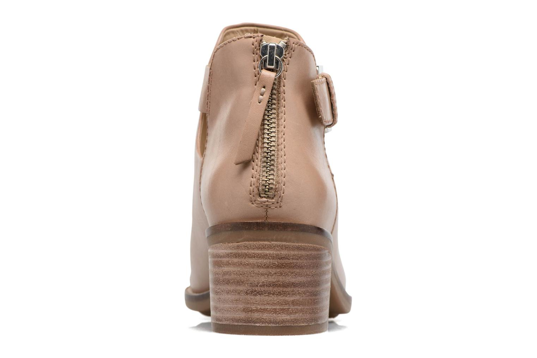 Boots en enkellaarsjes Geox D NEW TWINKA B Beige rechts